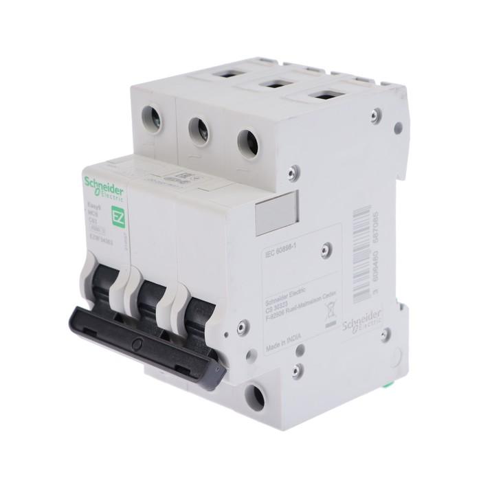Выключатель автоматический Schneider Electric серии Easy 9, 3п, 63 А, х-ка С, 4.5 кА