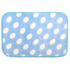 """Коврик для ванны 40×60 см """"Свет"""", цвет голубой"""