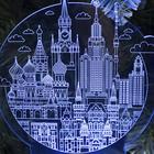 "Подставка световая ""Город"", USB, АА*3 (не в компл), 10 LED, RGB - фото 1899287"