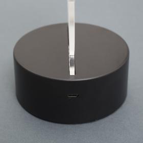 "Подставка световая ""Город"", USB, АА*3 (не в компл), 10 LED, RGB - фото 1899290"