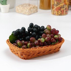 Basket for fruit and bread, 23x17x5 cm