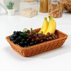 Корзина для продуктов Доляна, 30×19,5×6 см - фото 308068264