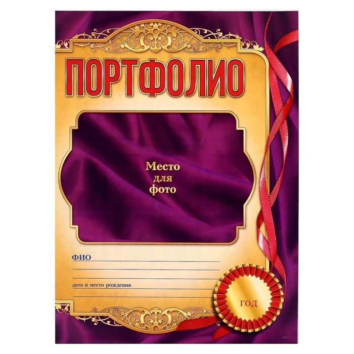 Портфолио выпускника, 8 листов - фото 443617646
