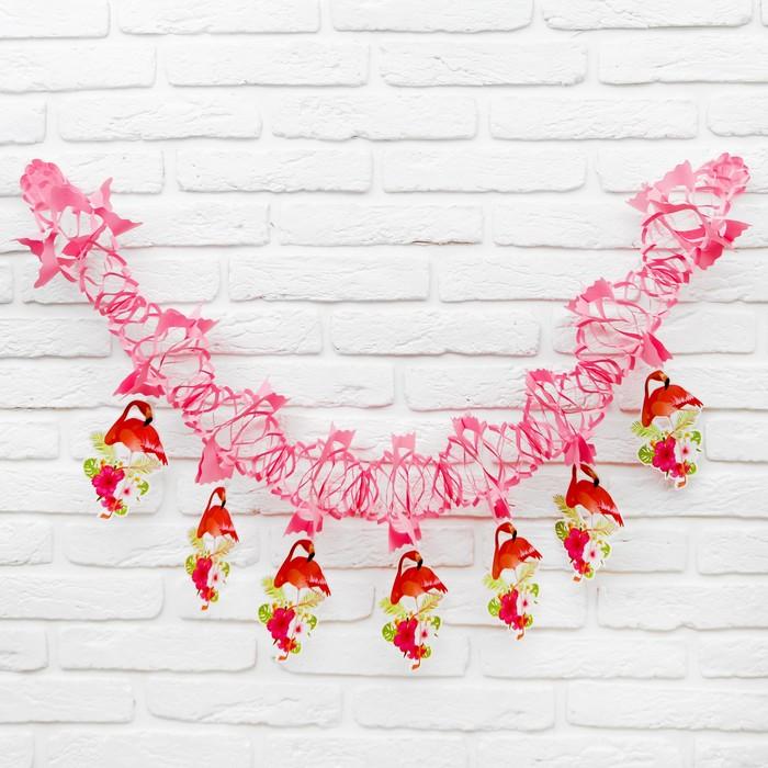 Растяжка «Фламинго»