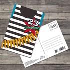 Почтовая карточка «С 23 февраля», тельняшка, 10 × 15 см