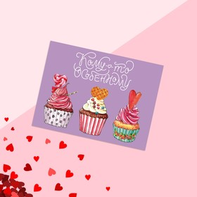 """Postcard-gift """"to Someone special"""" cake, 8 × 6 cm"""