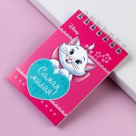 Блокнот на гребне, 'Коты аристократы', Disney, 32 листа, А7 Ош