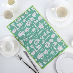 Mat for drying dishes 25x40 cm