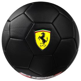 Мяч футбольный FERRARI, размер 5, PVC, цвет чёрный