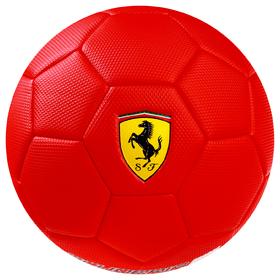 Мяч футбольный FERRARI, размер 3, PVC, цвет красный