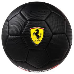 Мяч футбольный FERRARI, размер 3, PVC, цвет чёрный