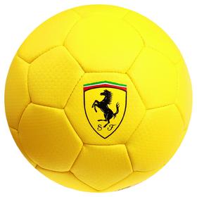 Мяч футбольный FERRARI, размер 2, PU, цвет жёлтый