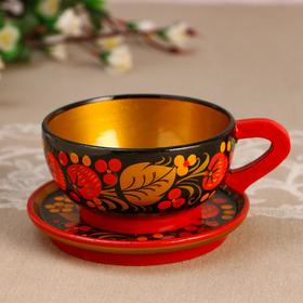 A couple of tea, 100 ml, D saucers 11 cm, Khokhloma