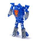 Робот «Часы», трансформируется, с индикацией времени, цвет синий - фото 105505591