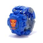 Робот «Часы», трансформируется, с индикацией времени, цвет синий - фото 105505593