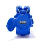 Робот «Часы», трансформируется, с индикацией времени, цвет синий - фото 105505594
