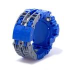 Робот «Часы», трансформируется, с индикацией времени, цвет синий - фото 105505595