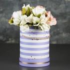 Коробка круглая для цветов 14 х 14 х 18,5 см