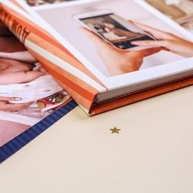 """Смешбук """"История нашей семьи"""", твёрдая обложка, А4, 23 листа - фото 2081440"""