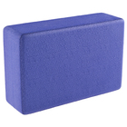 Блок для йоги 31х15х8 см, цвет фиолетовый