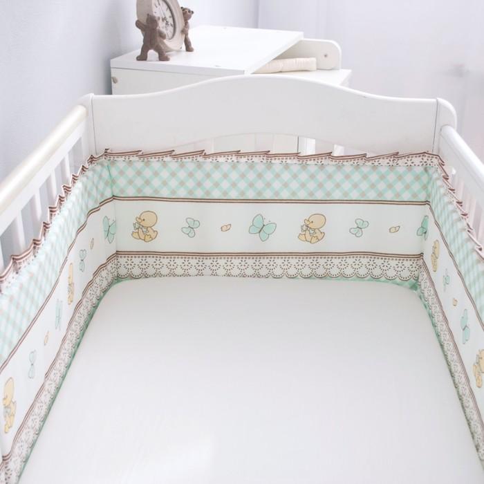 Борт-лента «Я люблю свою лошадку», размер 26 × 360 см, цвет мятный, бязь