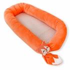 Матрас-кокон «Оранжевый лис», размер 55 × 85 см, плюш