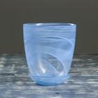 Горшок цветочный с поддоном №3 алебастр голубой 1 л