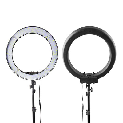 Кольцевая лампа OKIRA LED RING 240, 55 Вт, 240 светодиодов, d=49 см, черная
