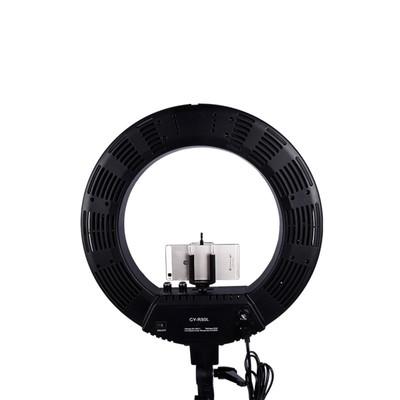 Кольцевая лампа OKIRA LED RING 448 CY, 65 Вт, 448 светодиодов, d=48 см, черная