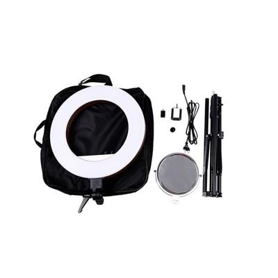 Кольцевая лампа OKIRA LED RING 480 CY 50, 48 Вт, 480 светодиодов, d=46 см, черная