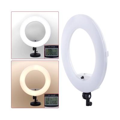 Кольцевая лампа OKIRA LED RING FE 480 PRO, 96 Вт, 480 светодиодов, d=45 см, черная