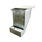 Кормушка бункерная для кроликов, оцинкованная, 2,5 кг