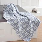 Одеяло детское «Крошка Я» Гитара 140×200 цвет синий, жаккард, 100% хлопок