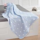 Плед детский Крошка Я «Голубые звёзды» 140х200 - фото 105560111