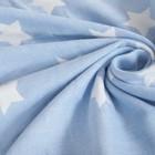 Плед детский Крошка Я «Голубые звёзды» 140х200 - фото 105560113