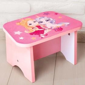 Стул-подставка для умывания детский «Принцесса» Ош