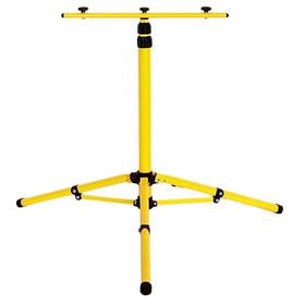 Стойка 1,6 м желтая, двухместная STD-0001-160