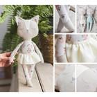 Мягкая игрушка «Кошечка Мэй», набор для шитья, 18 × 22 × 2 см