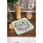 "Towel microfiber ""Share"" Provence, 30x30 cm, p/e of 200 gr/m2"