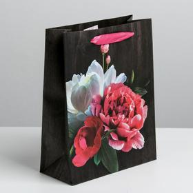 """The package laminated vertical """"Flowers of love"""", ML 23 × 27 × 8 cm"""