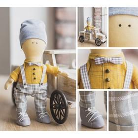 Интерьерная кукла «Шон», набор для шитья, 18 × 22.5 × 2.5 см