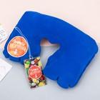 Дорожный набор «Сочного настроения»: надувная подушка, багажная бирка