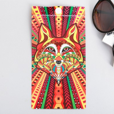 Case for spectacles Fox, 9.3 x 17.8 cm
