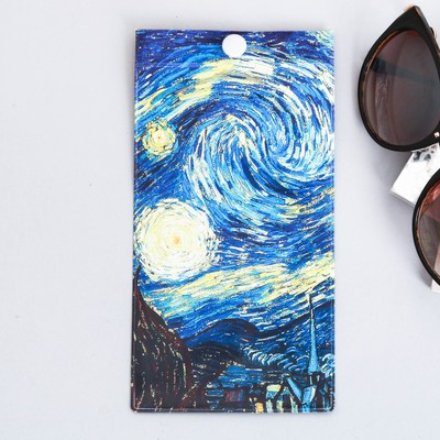 """Case for points """"Starry night"""", 9.3 x 17.8 cm"""
