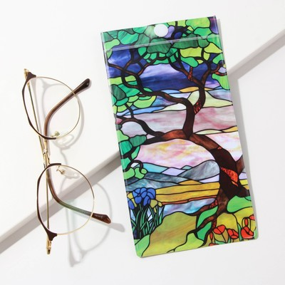 "Case for glasses ""Stained glass,"" 9.3 x 17.8 cm"