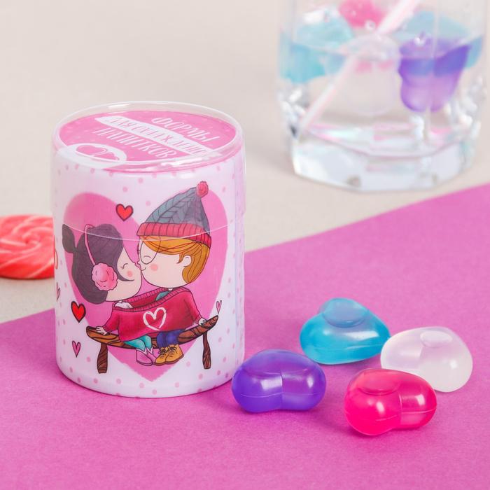 """Кубики для охлаждения напитков """"Наша любовь"""", 10 шт"""