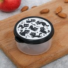 "The lunch box-round ""Moore, meow"", 150 ml"