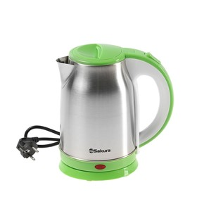 Чайник электрический Sakura SA-2147G, 1800 Вт, 1.8 л, зеленый