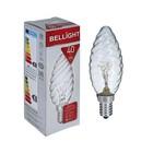 Лампа накаливания BELLIGHT, ДВ, 40 Вт, 230 В, Е14
