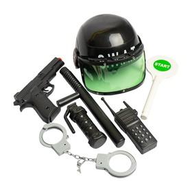 Набор игровой «Полиция», со шлемом, 7 предметов